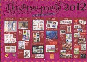 PHIL@POSTE en TEST SUR NOTRE DEPARTEMENT... dans ACTUALITE SYNDICALE calendrier-2012-timbres-300x214
